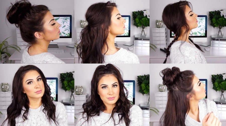 Einfache Frisuren Dünnes Haar bilder ideen