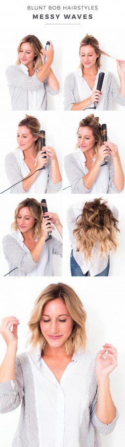 Einfache Frisuren Long Bob ideen bilder