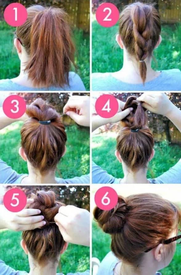 Einfache Frisuren Selber Machen bilder