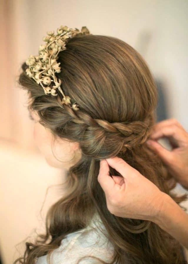 Festliche Frisuren für Halblanges Haar Ideen