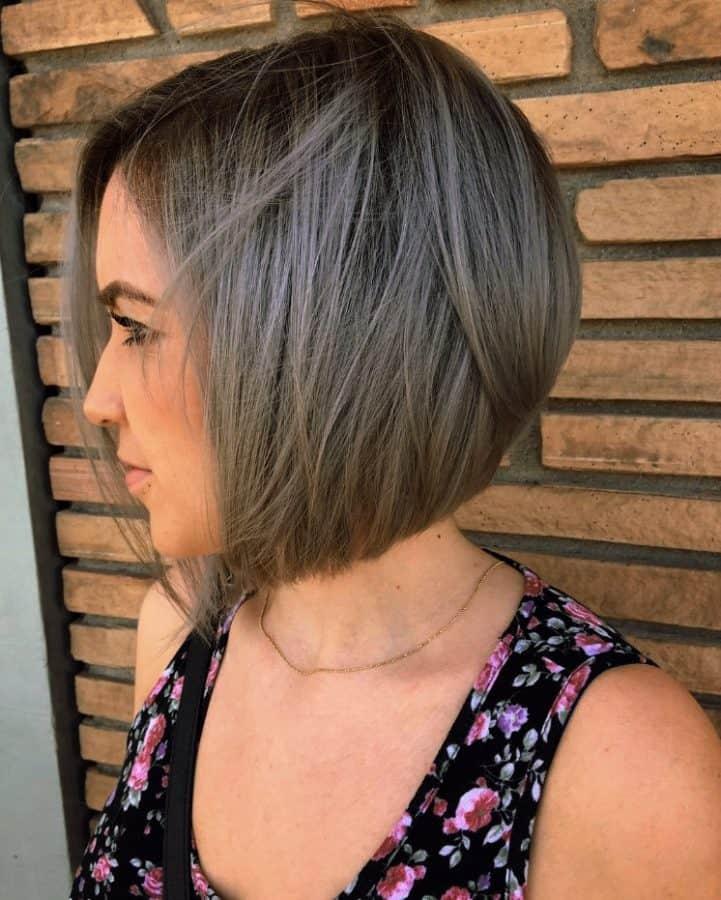 Feuriger Balayage für dünnes Haar