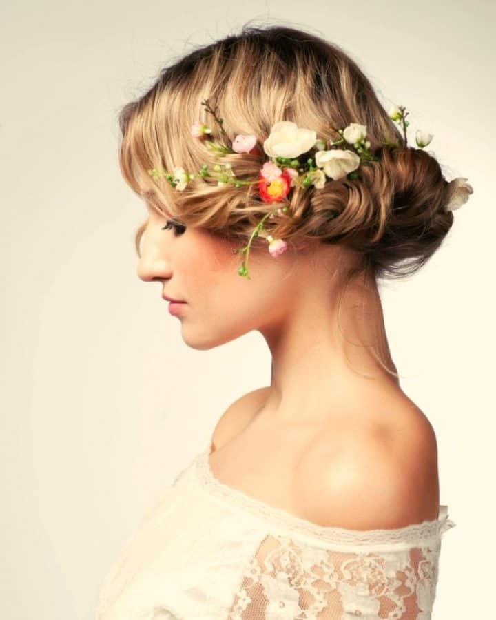 Ideen Festliche Frisuren Dünnes Haar