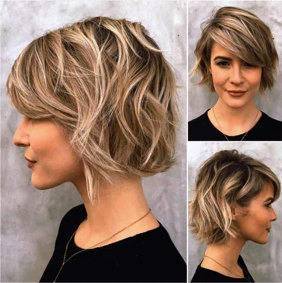Bob Frisuren Blond Beautiful Wavy Long Bob Haircuts For With Bob