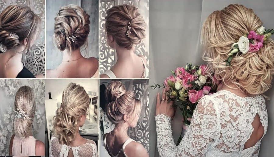 Inspirationen Frisuren Schulterlang Hochzeit Ideen