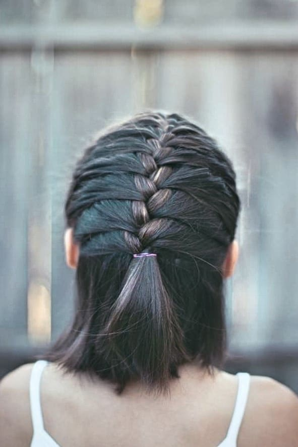 Neuer Dirndl Frisuren Sehr Kurze Haare Französischer Zopf