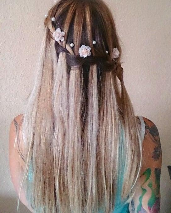 Neuer Festliche Frisuren Langes Haar