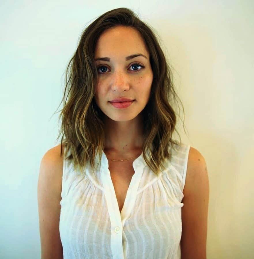 Beste Einfache Frisuren für Dünnes Haar Neuer Einfache Wellen
