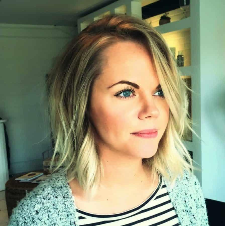 Top 23 Frisuren für Dünnes Haar Inspirationen Haarschnitte ...