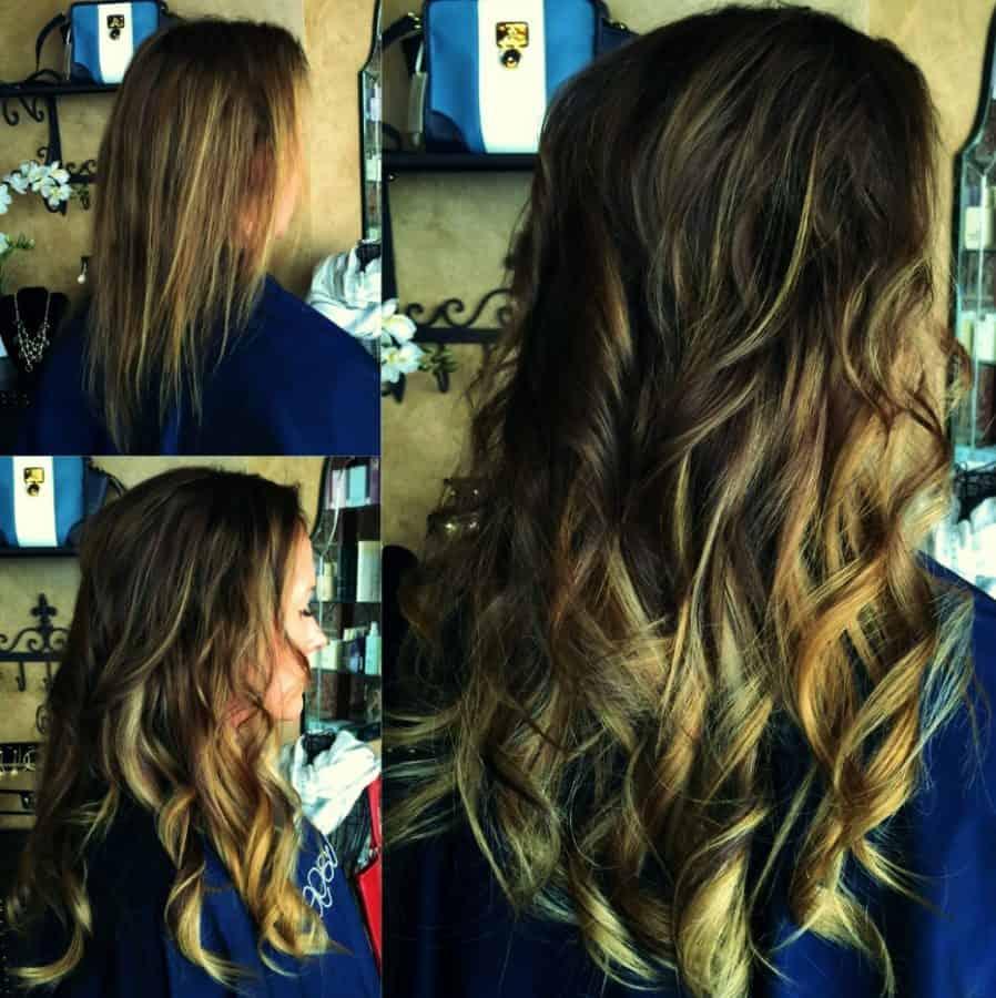 Inspirationen Frisuren für Sehr Dünnes Haar Vorher Nachher Bilder