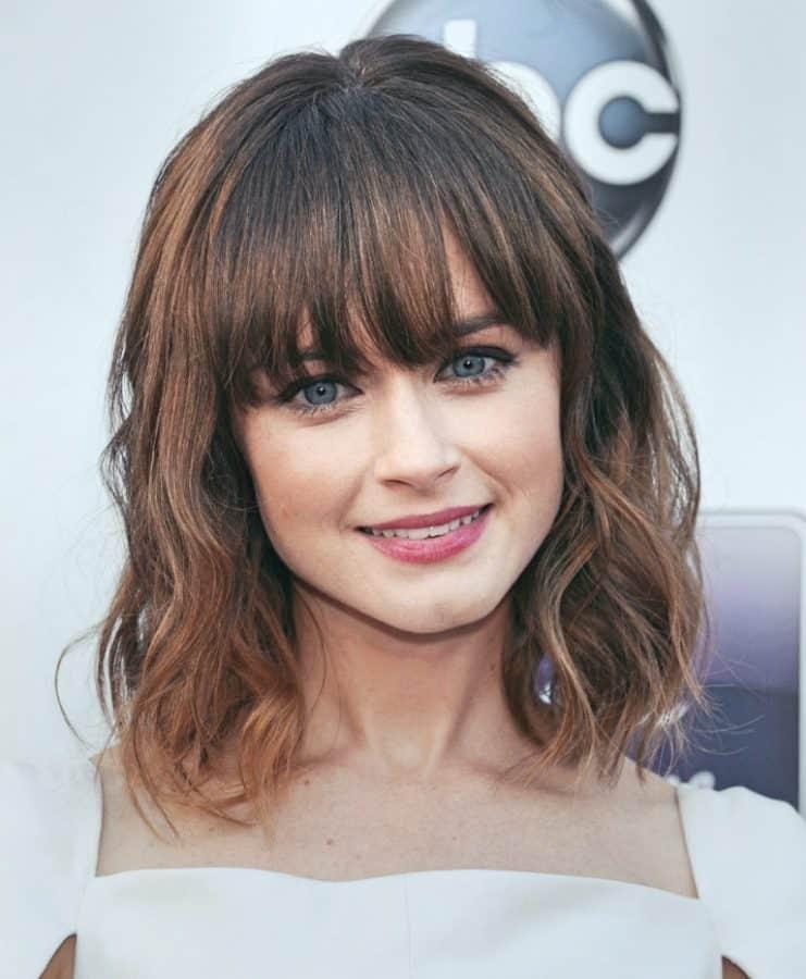 Neuer Damen Frisuren Fransig Inspirationen