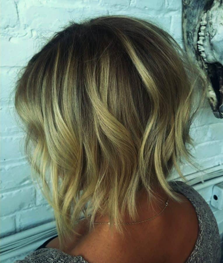Mittellange frisuren damen dunnes haar