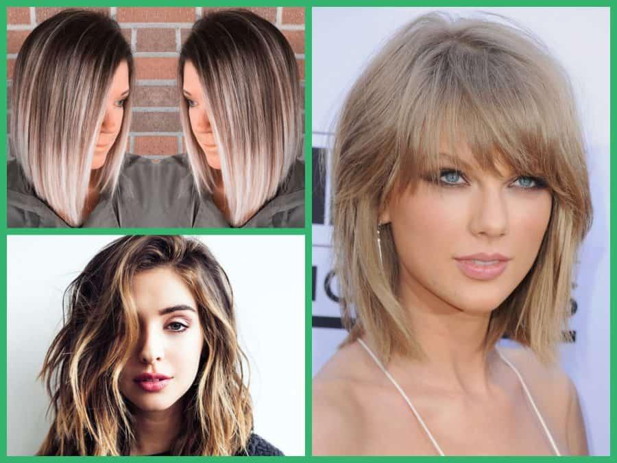 Frisuren bilder schulterlang