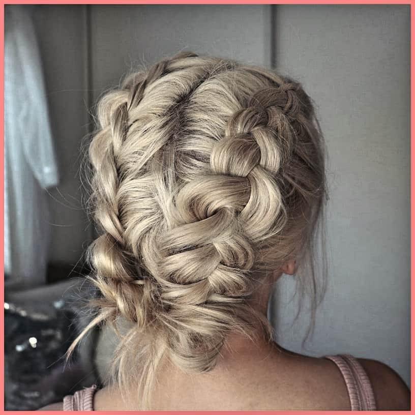 Schnelle und Einfache Sommerzöpfe Mittellange Haare
