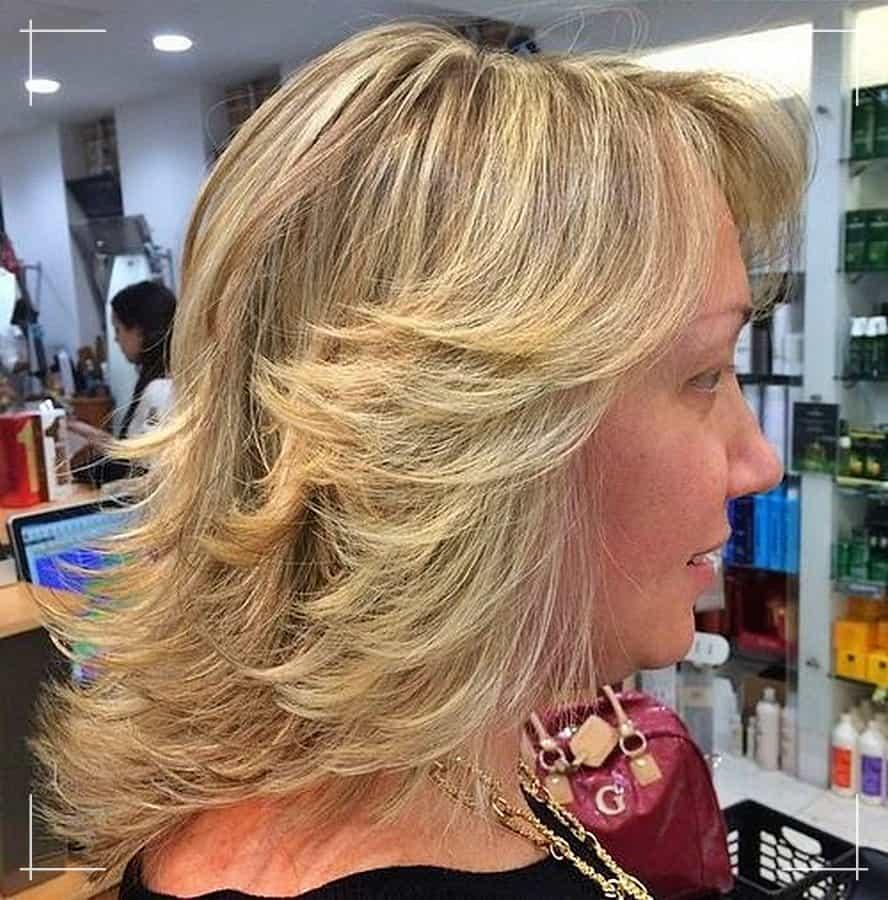 1 Schulterlange Schönheit Frisuren ab 40 die jünger machen