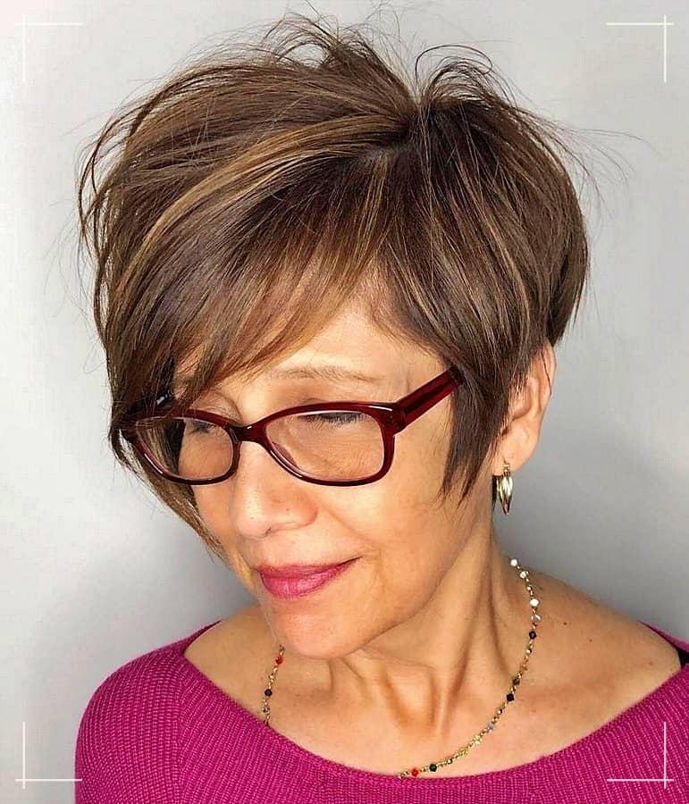 7 Frisuren ab 40 Lang Asymmetrischer Pixie