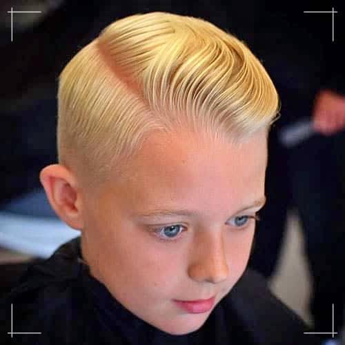 Jungs Frisuren Klassisches Seitenteil