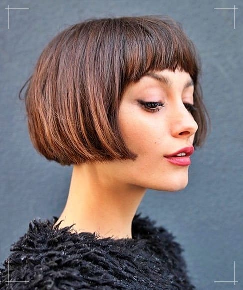 5 Frisuren Kinnlang Lippenlängen-Crop
