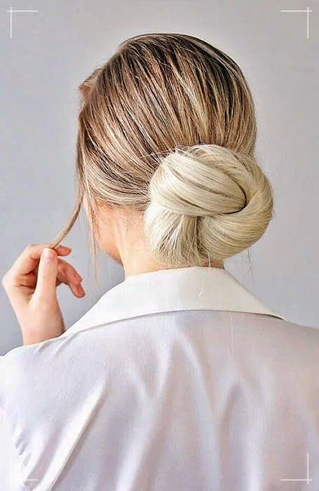 Knoten Dutt Frisuren