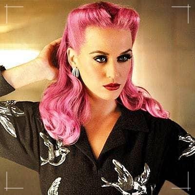 Rockabilly Frisuren rosa Teufel