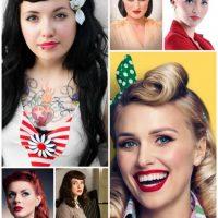 Einfache Rockabilly Frisuren für Frauen Inspirationen Ideen